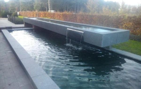 Schwimmende Teich